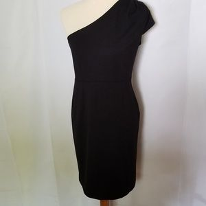 Adrienne Vittadini Black One Shoulder dress